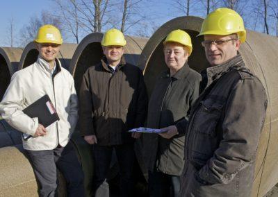 Entwicklung von Behältern für Biogasanlagen